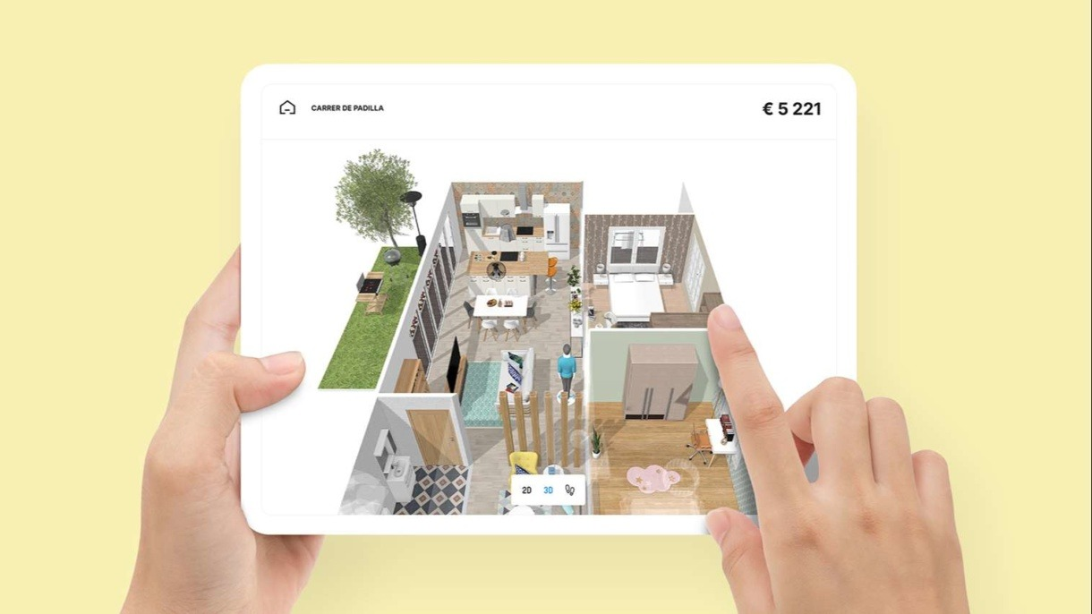 homebyme for home retailers 3D planning solution