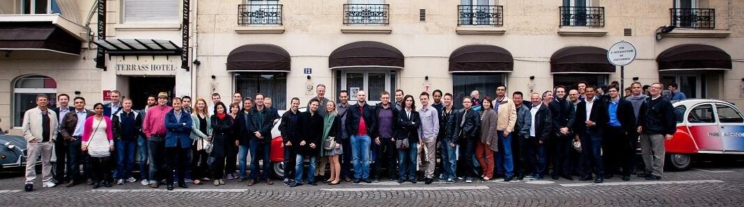 The 3DVIA team at Paris Offices