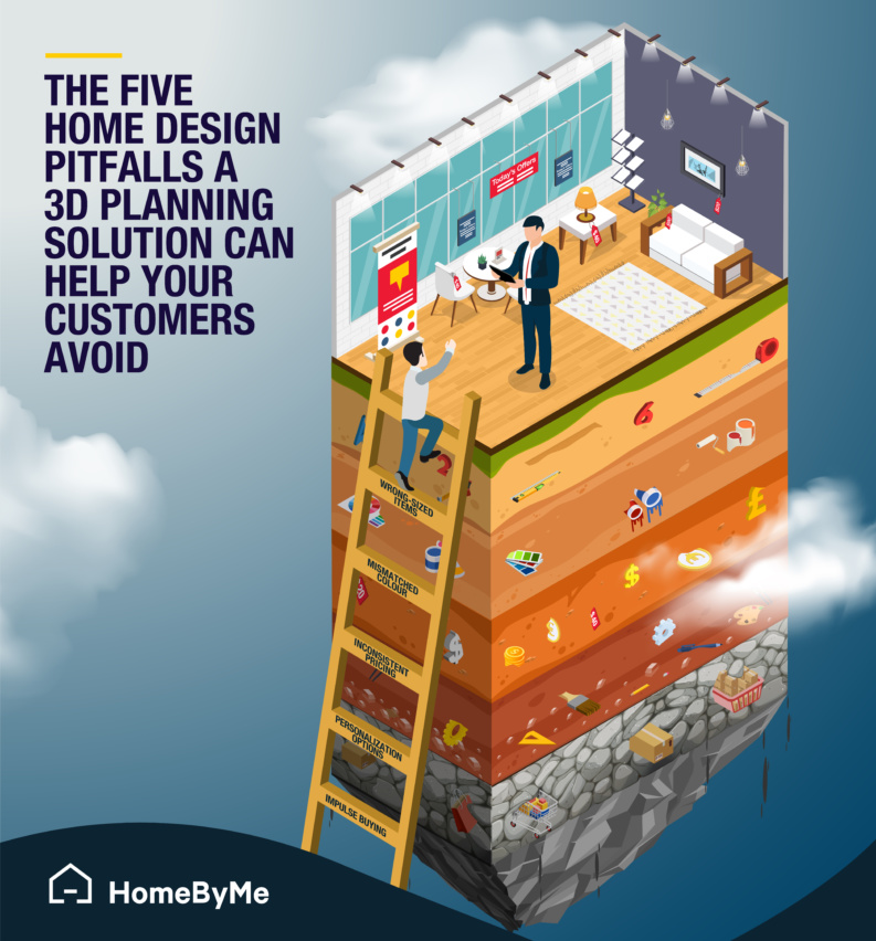 The five home design pitfalls a 3D planning solution can help your customer avoid