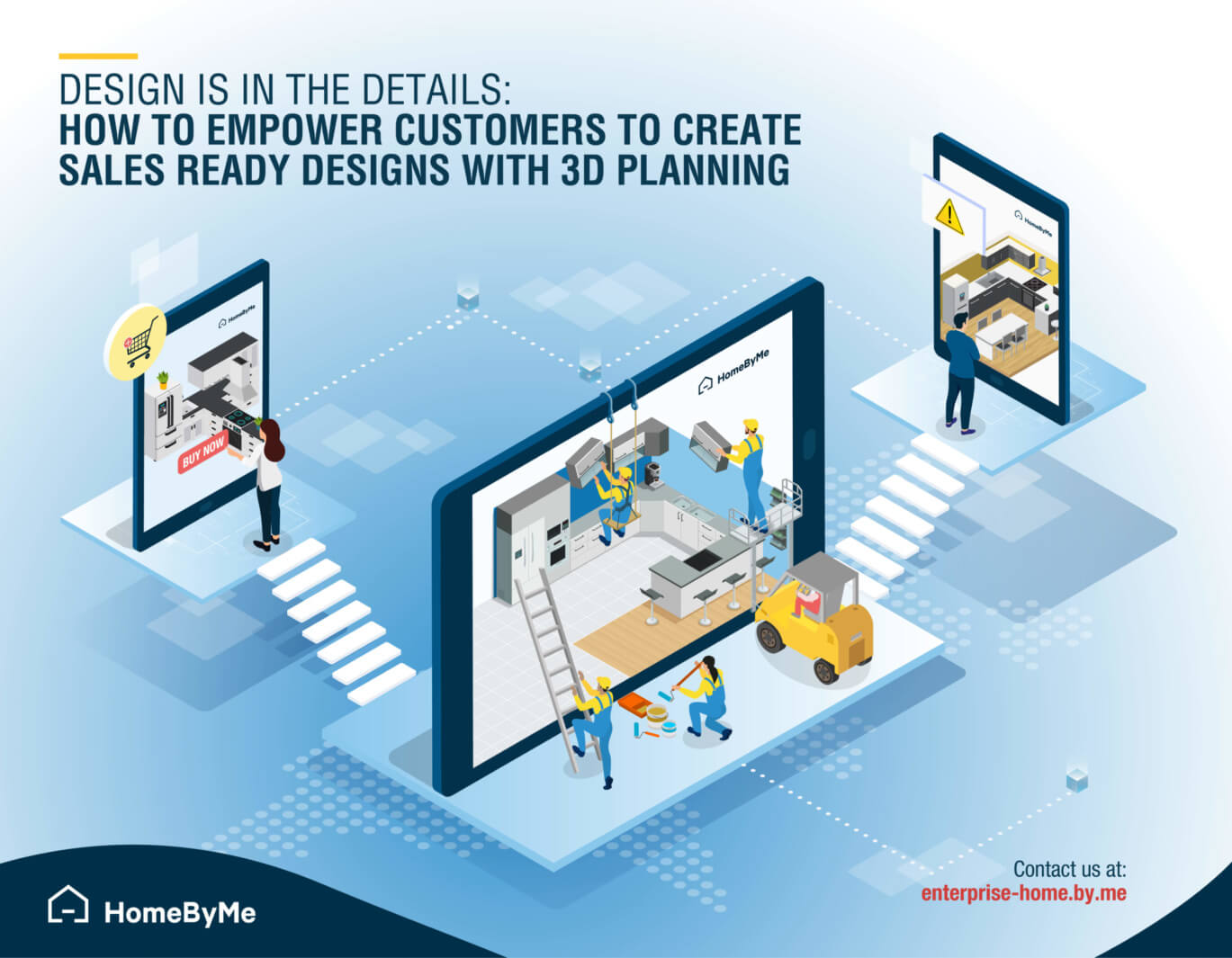 Empower your customers with a 3D planning solution
