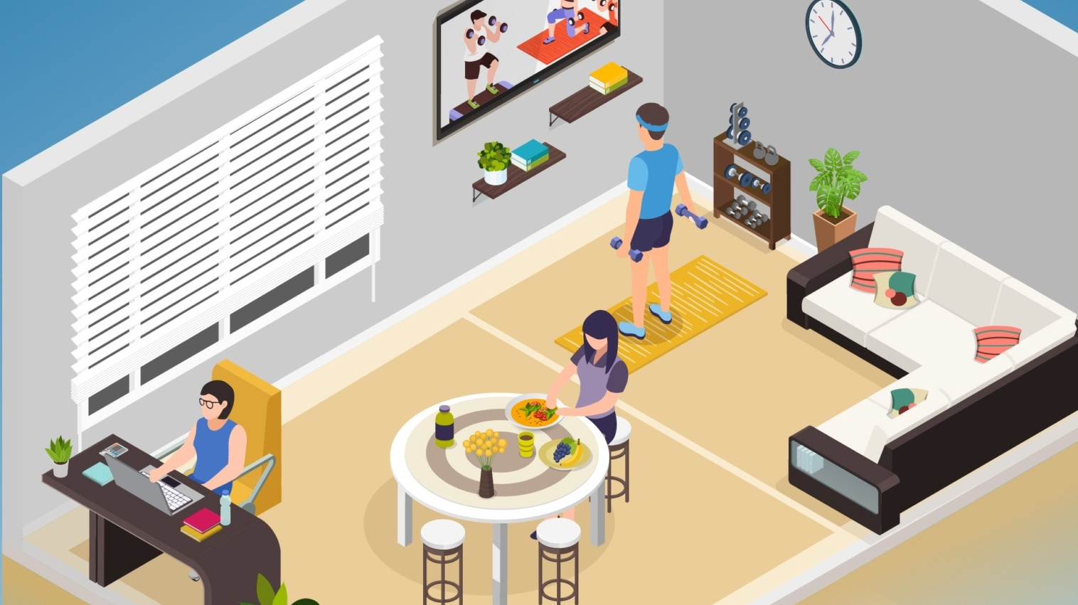 multi-purpose capabilities of the HomeByMe for Home Retailers 3D planning solution