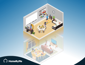 the multi-purpose capabilities of the HomeByMe for Home Retailers 3D planning solution