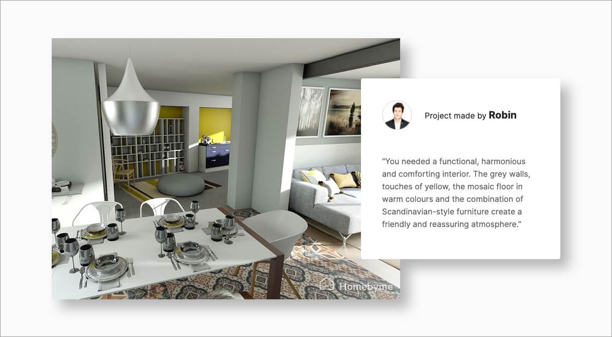 Ihren 21D Grundriss ausgestalten   HomeByMe for Customers