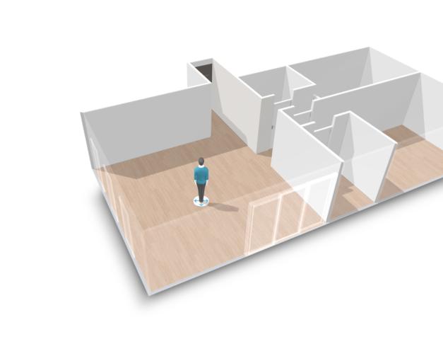 3D Floor plan HomeByMe