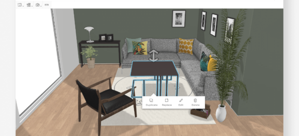 HomeByMe planner view