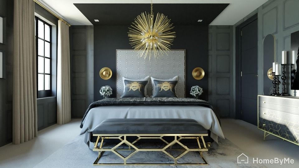 Glam Bedroom Ideas For A Stunning Hollywood Regency Interior Homebyme For Customers