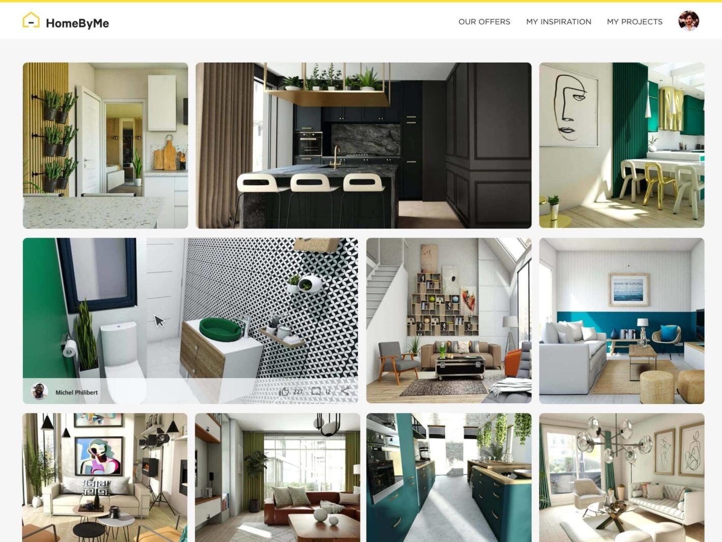 Per 20D Ansicht Impulse für Ihres Zuhauses finden   HomeByMe