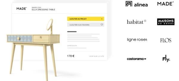 Meublez votre projet avec des produits de marque